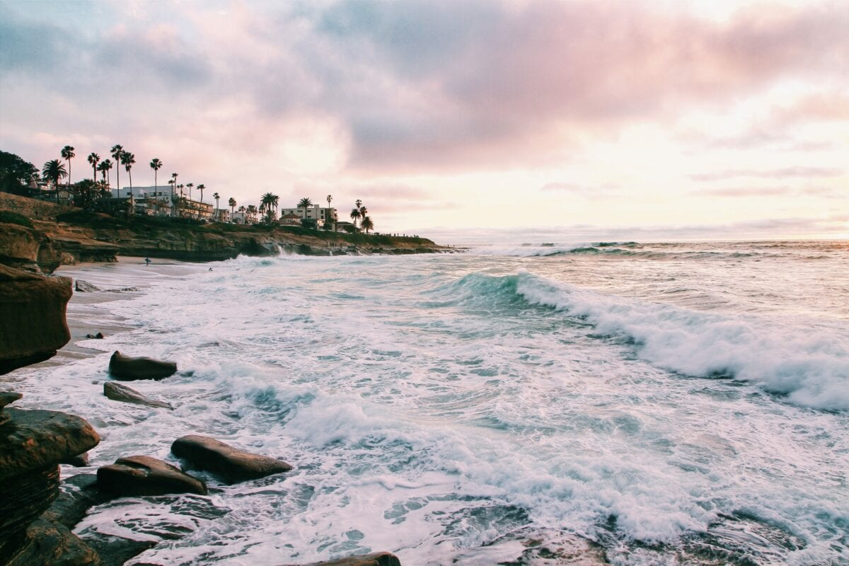 Image of San Diego shoreline