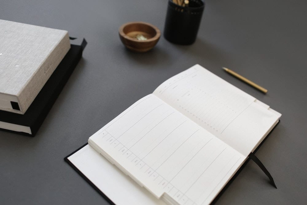 Image of a planner.