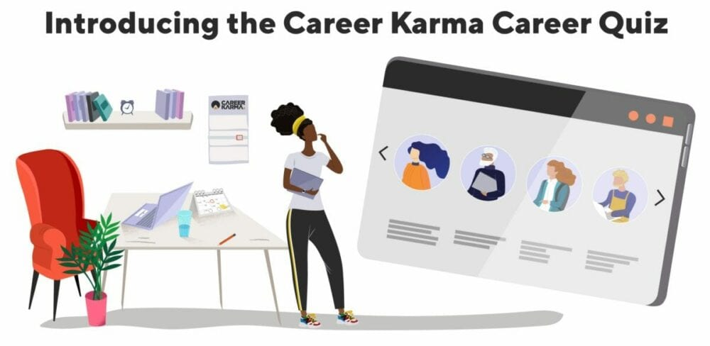 Introducing the free Career Karma Career Quiz