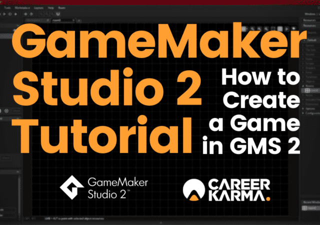 GameMaker Studio 2 Tutorial - How to Create a Game in GMS 2