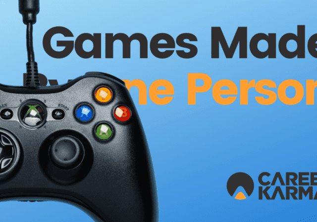 Games Made By One Person