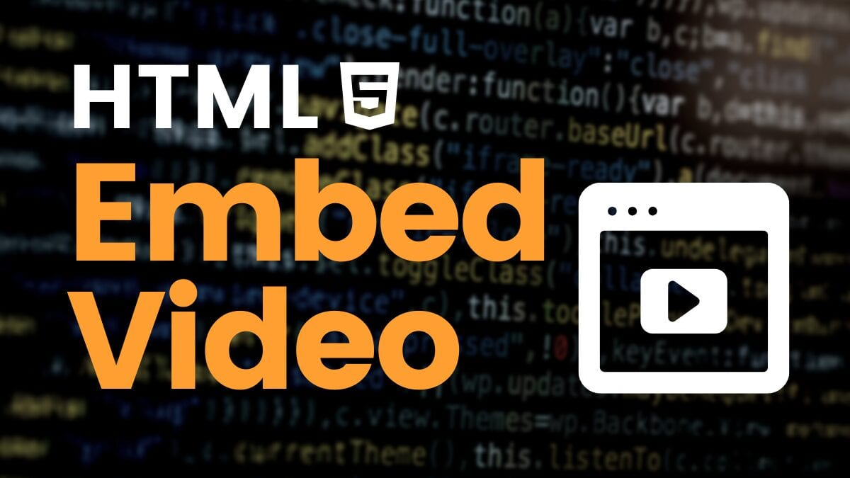 Embed Video HTML: A Step-by-Step Guide
