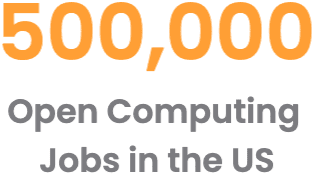 500,000 Open Computing Jobs in the US