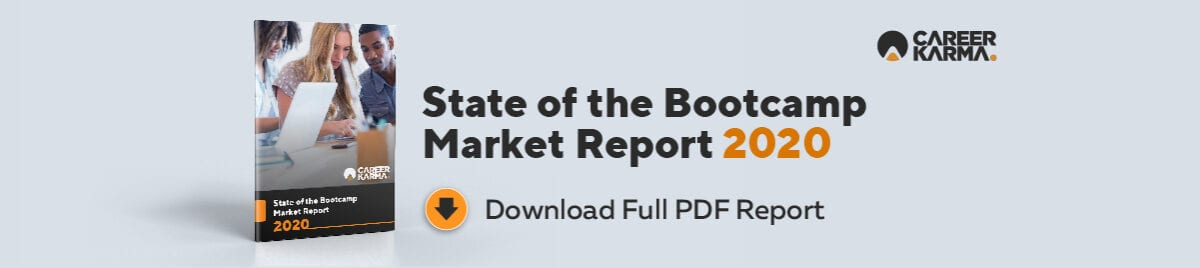State of the Bootcamp Market Report 2020 Banner