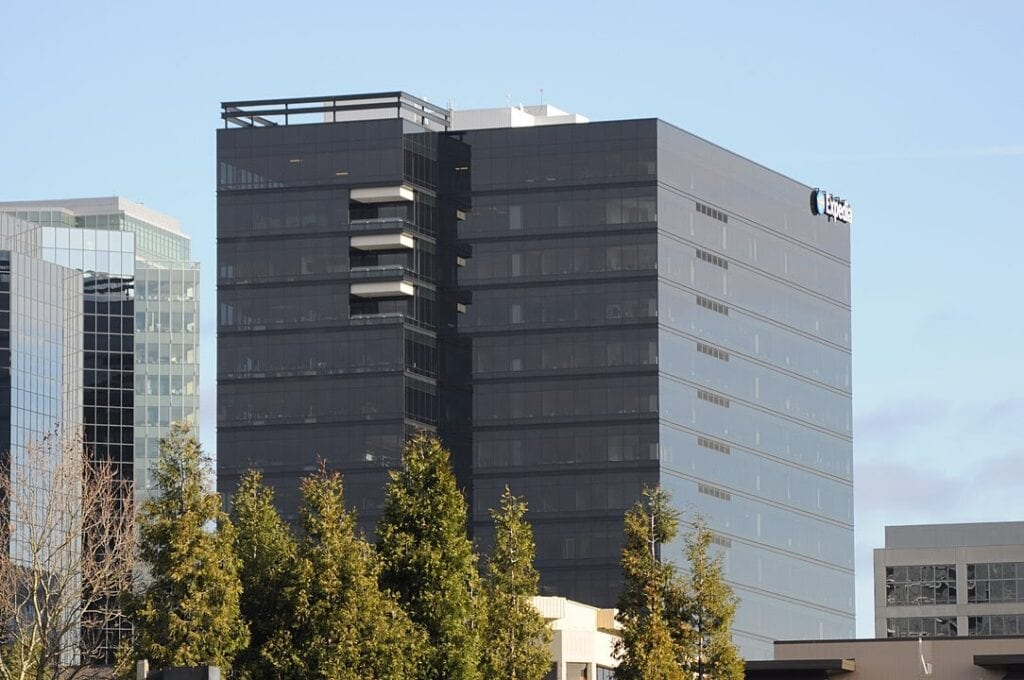 Office building  for Expedia, one of the best companies in the Seattle tech industry