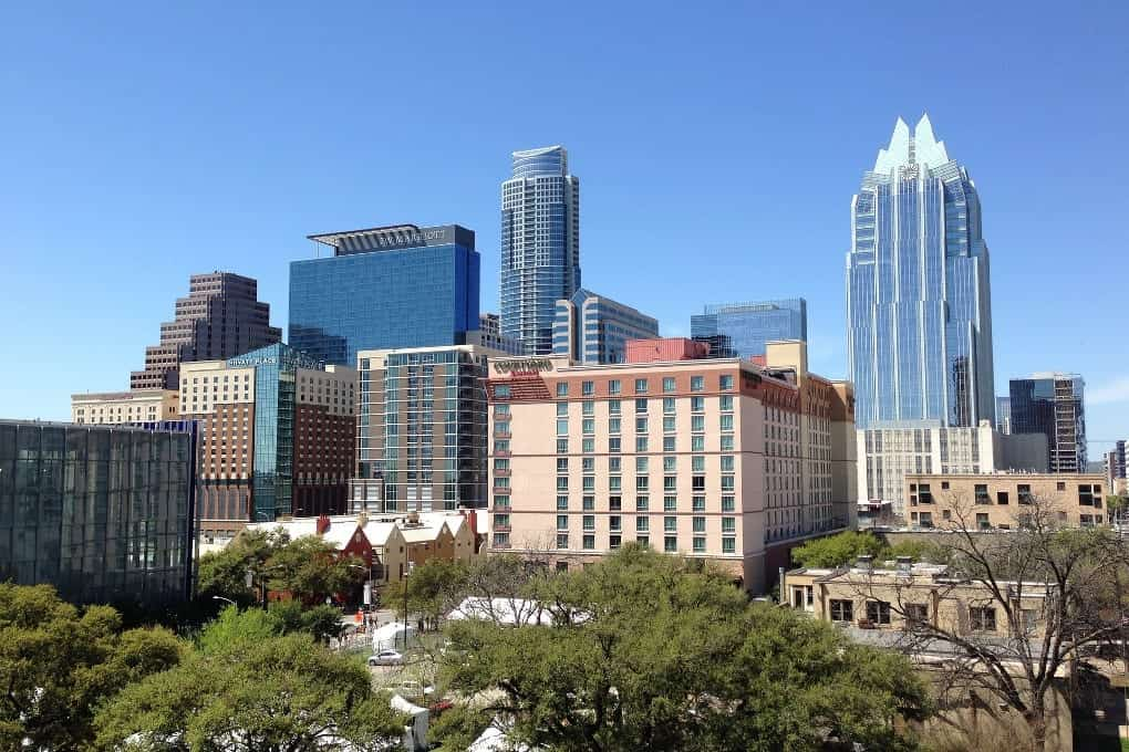 Buildings and skyscrapers in Austin