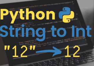 Python String to Int