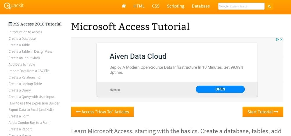 How to Learn Microsoft Access: Best Courses to Master the Top Database Program