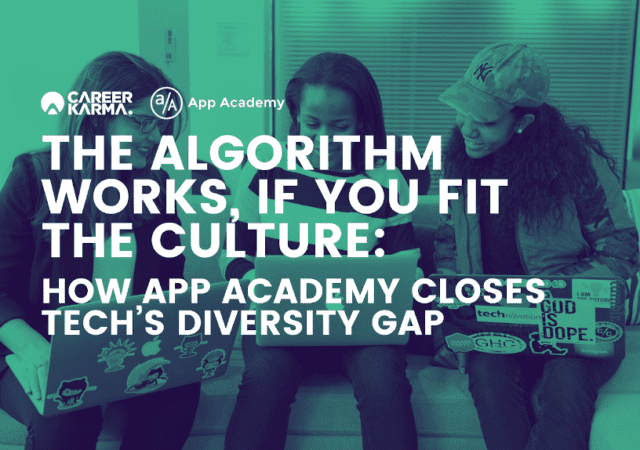 How App Academy Closes Tech's Diversity Gap