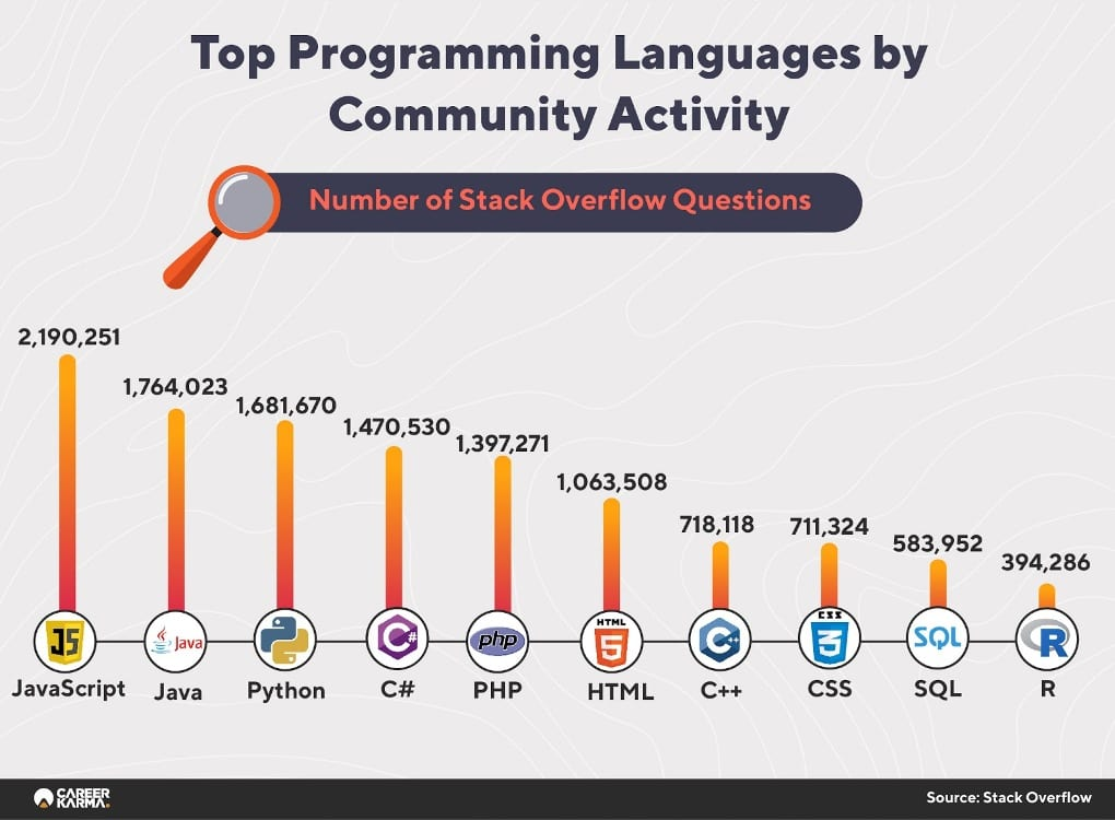 Programming Languages Report Infographics 04