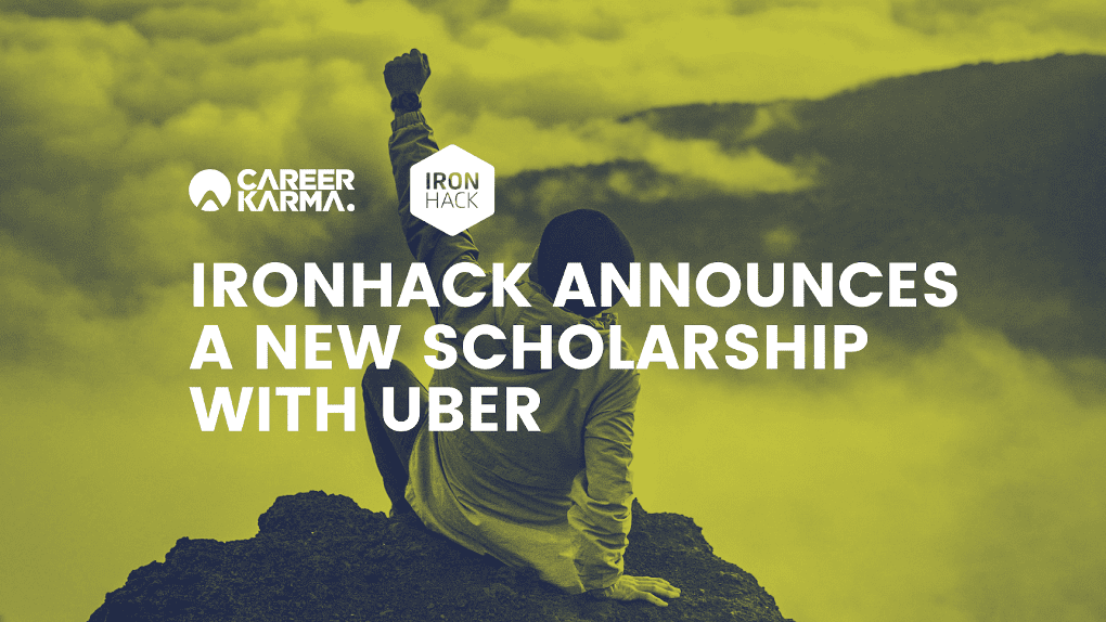 An image demonstrating the partnership between Uber & Ironhack would go well here