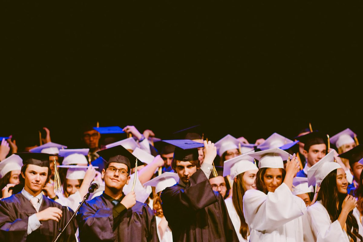 A group of graduates wearing graduation gowns and hats. How to Become a Enterprise Architect