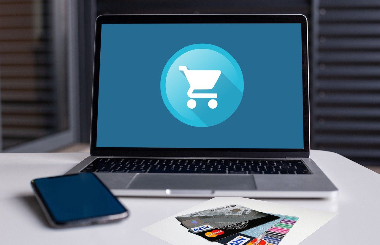 ecommerce cart on Computer Screen Common Sales Engineer Interview Questions and How to Answer Them